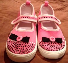 Silly Kids DIY Shoe Decoration