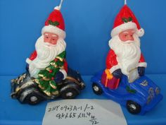 Santa Claus Candle/Christmas Candle/Festival Candle from Quanzhou RuiHua Crafts Co.,Ltd