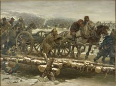 Crossing of the Berezina, 1812