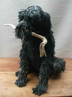 Domic Gubb rope dog in black