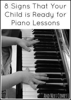 8 signs that your child is ready for piano lessons