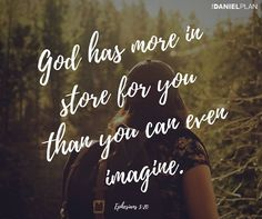 """God can make changes in your life that you have never dared to even dream of. He specializes in miracle makeovers. """"God can do anything, you know—far more than you could ever imagine or guess or request in your wildest dreams!"""" (Ephesians 3:20 MSG). That is a power that you cannot find anywhere else."""