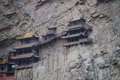 The Hanging Monastery in Northern Shanxi, China