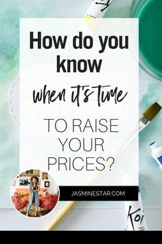 Real Business Questions: When Is It Time To Raise Your Prices? Business Goals, Business Tips, Online Business, Business Coaching, Business Management, Management Tips, Creating A Business, Jasmine Star, Social Media Marketing