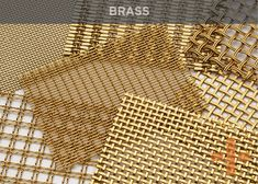 Materials | Banker Wire | Stainless Steel Wire Mesh Wire Mesh, Metal Mesh, Weathering Steel, Stainless Steel Mesh, Wire Weaving, Elegant Homes, Interiores Design, Copper Wire, Kitchen Doors