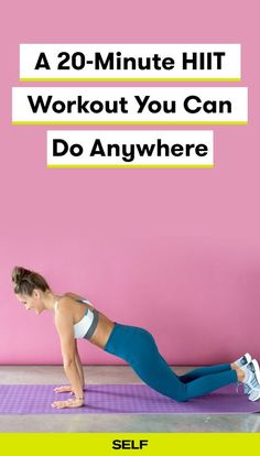 This at-home HIIT workout for women targets your major muscle groups for a full body exercise. HIIT combines cardio and strength training for an effective workout that's sure to build muscle.