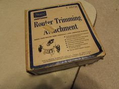 Vintage Sears Craftsman Router Trimming Attachment 9-25732   #Sears