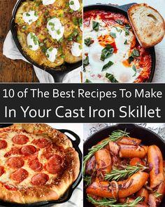 Try out any of these 10 cast-iron skillet recipes for a delicious down-home dinner.