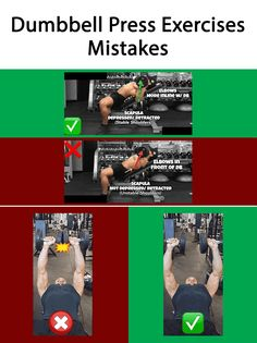 Dumbbell Chest Press Exercises Mistakes  #Exercises_Mistakes #Mistakes_at_gym #Chest_Exercises_Mistakes #muscles_pain # joints_pain #Chest_Exercises