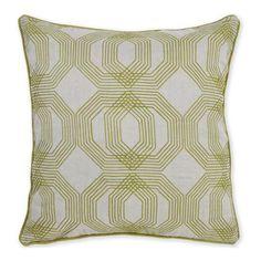 Kyoto Green Pillow by Bassett Furniture