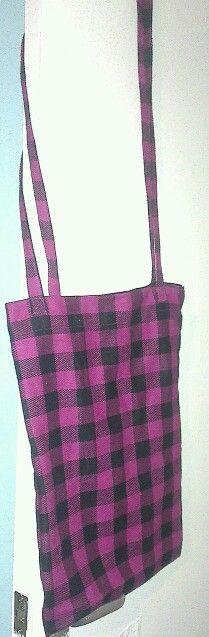 Pink punk bag