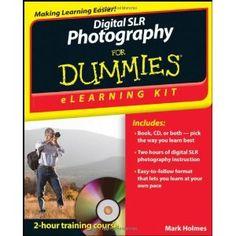 Digital SLR Photography eLearning Kit For Dummies (Paperback)  http://www.picter.org/?p=1118073894