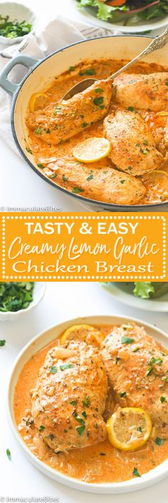 Creamy Lemon Garlic Boneless Chicken Breast – Easy, Spicy and Loaded with flavor. A tasty weeknight meal that only takes 30 minutes to make. There is nothing like a home cooked meal. The thing is, who has the time? This is especially the case for those who enjoy intensely flavored food. Although …
