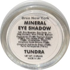 Mineral Eye Shadow Shade Tundra Accentuate your eyes! Mineral eye shadows are formulated from the finest natural minerals to achieve the perfect look. So versatile they can be used dry for a natural look or wet to intensify the color. Bren New York $13.00
