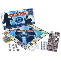 Monopoly Board Game Set American Idol Edition