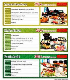 Buscando menú para la cenas de Navidad con amigos o empresa? Descubre nuestros menús degustación #Hanakura.