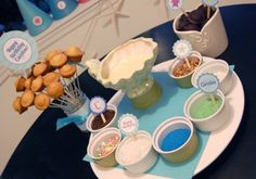 Birthday Cupcake Fondue Party - decorating ideas