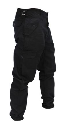 pretty nice 2a8c4 e284f WWK MensKids Army Combat Work Trousers Pants Combats Cargo Pockets Heavy  Duty  Clothes