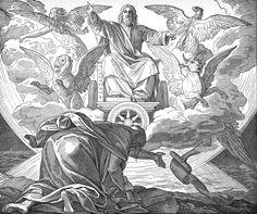 Bilder der Bibel - Hesekiel - Julius Schnorr von Carolsfeld