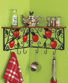 Apple Kitchen Shelf