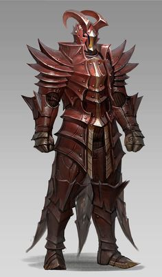 ArtStation - armor8_red dragon, sueng hoon woo