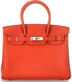 orange Birken bag...one day...