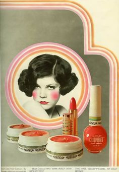 Cellophanes cosmetics advertisement, 1969