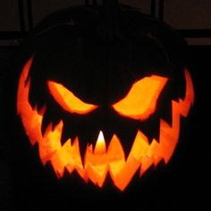 I do love a scary Jack O'Lantern! : halloween