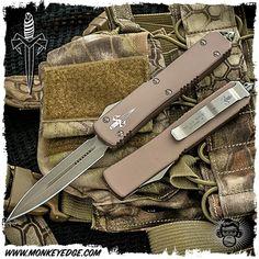 Microtech Custom: Ultratech Desert Tactical Dagger D/E