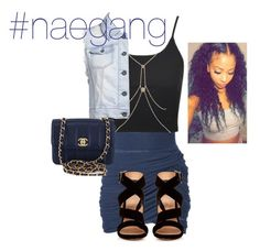 """""""use my hashtag below"""" by nae-834 ❤ liked on Polyvore featuring Vero Moda, Topshop, River Island, ONLY, Gianvito Rossi, Chanel and naegang"""