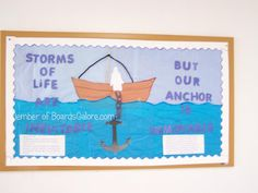 Storms of Life are inevitable but our Anchor is immoveable.