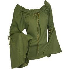 #Farbbberatung #Stilberatung #Farbenreich mit www.farben-reich.com Medieval Blouse found on Polyvore featuring polyvore, fashion, clothing, tops, shirts, medieval and blouses