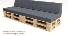 Pallet Garden Furniture, Diy Pallet Sofa, Banquette, Cafe Design, Ideas Para, Patio, Storage, Google, Inspiration
