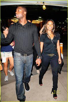 Gabrielle Union & Dwyane Wade: Football Fanatics   dwyane wade gabrielle union football fanatics 06 - Photo