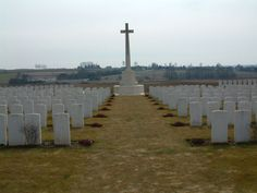 Ovillers Military Cemetery was begun before the capture of Ovillers, as a battle cemetery behind a dressing station. Used until 3|1917, it contained 143 graves, about 1/2 the present Plot I. Increased after the Armistice when Commonwealth & French graves where brought mainly from the battlefields of Pozieres, Ovillers, La Boisselle & Contalmaison & 2 other cemeteries