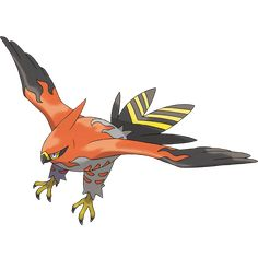 View an image titled 'Talonflame Art' in our Pokémon X and Y art gallery featuring official character designs, concept art, and promo pictures.