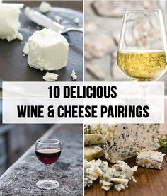 Even if you don't know the first thing about wines or cheeses, you can't go wrong with these pairings. | http://bzfd.it/W6SYuZ
