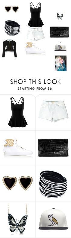 """game night"" by dancingdollbella on Polyvore featuring Doublju, Mother, BUSCEMI, Vince, Andrew Hamilton Crawford, October's Very Own, Moschino, women's clothing, women and female"