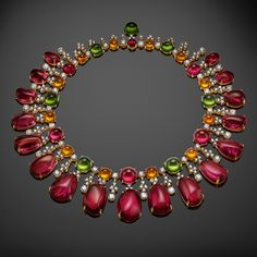 Bulgari's Diva Collection.  Pink gold and rubellites illuminate everything with incomparable hues.