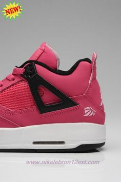 huge discount 69b7e 5efd0 Buy Voltage Cherry-White-Black 487724-601 AIR JORDAN 4 RETRO Girl GS.  Sabine · best cheap basketball shoes