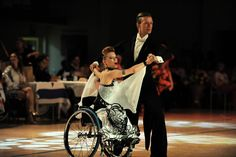 Ballroom wheelchair dance costumes