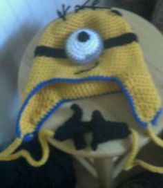 Minion with hands.  My design