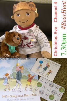 We're Going On A Bear Hunt is such a well-loved children's book and now it has been made into a film launching on Christmas Eve.  Click through to the post for FREE PRINTABLE activity and colouring sheets.