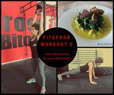 Workout n°2 http://blog.giallozafferano.it/greenfoodandcake/workout-n2/
