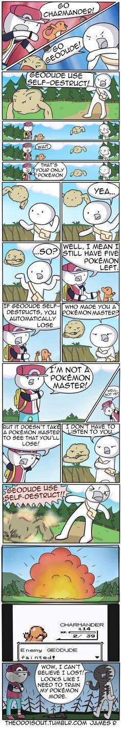 I'm not a Pokemon master... Yet