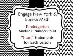 Engage New York / Eureka Math Modules 1-6 Bundle