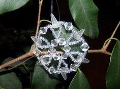 Vánoční korálky III - Vločky :: Duhové centrum Kroměříž Diamond, Jewelry, Jewlery, Jewerly, Schmuck, Diamonds, Jewels, Jewelery, Fine Jewelry