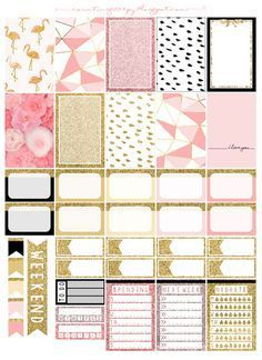 Free Printable Pink