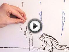 Maker VS Marker : un dessinateur livre un épique combat contre son propre dessin