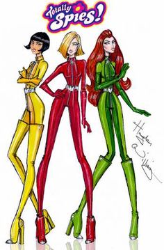 Totally Spies by Hayden Williams